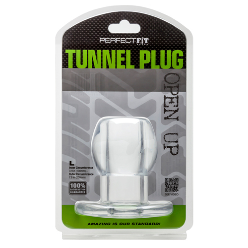 Tunnel Plug - Transparant