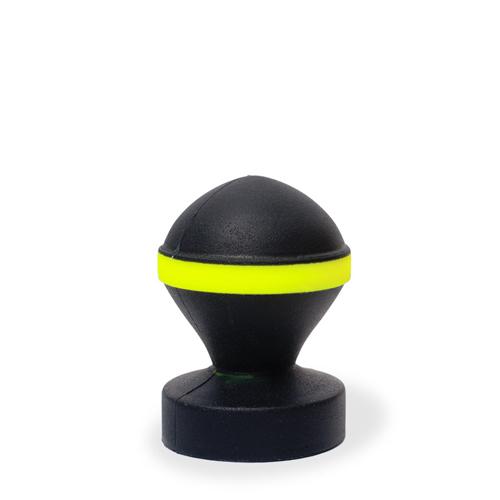 All Black Ronde Buttplug - Zwart