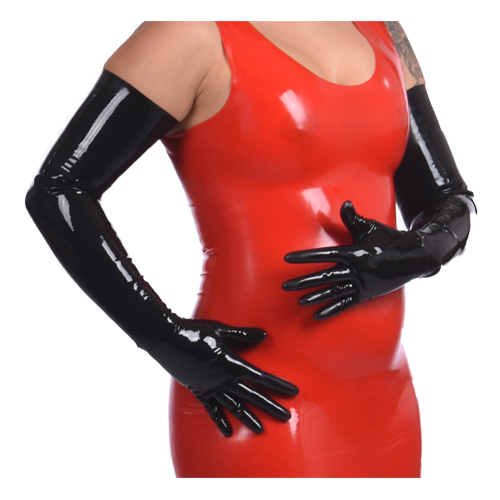 Lange Latex Handschoenen