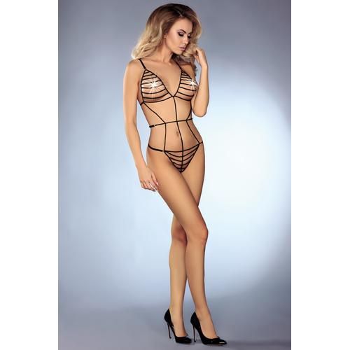 Makenzie Kraaltjes Body Zwart – Livia Corsetti Fashion