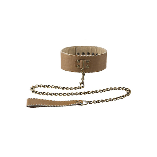 Jouw sub zal exact weten wie de baas is als je deze mooie halsband met riem gebruikt! de halsband beschikt ...
