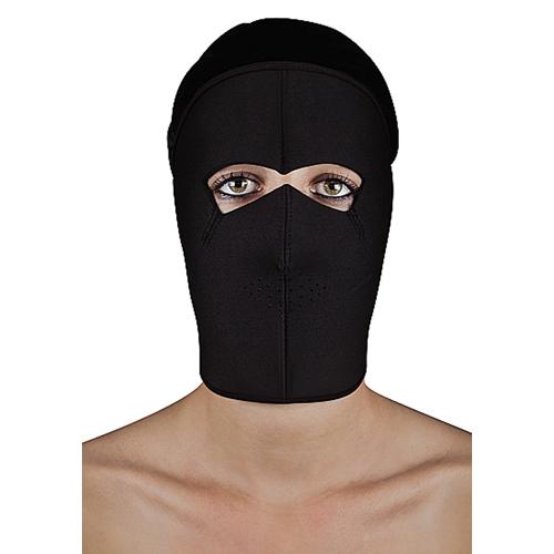 Extreem BDSM masker met klittenbandsluiting