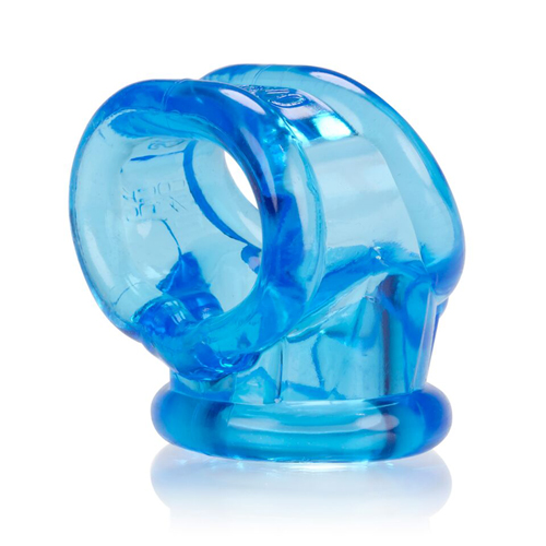 Cocksling-2 Ballstretcher – Ijsblauw Blauw – Oxballs