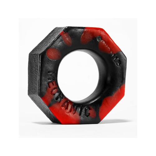 Oxballs Cockring - Rood/Zwart