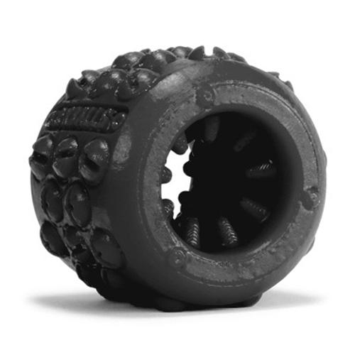 Oxballs ballstretcher met noppen - Zwart