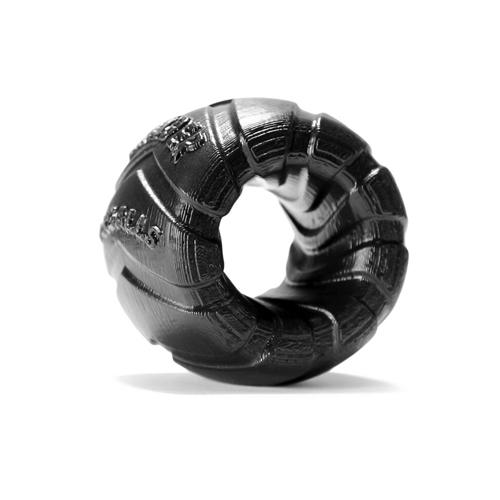 Zwarte Brede autoband ballstretcher Zwart – Oxballs