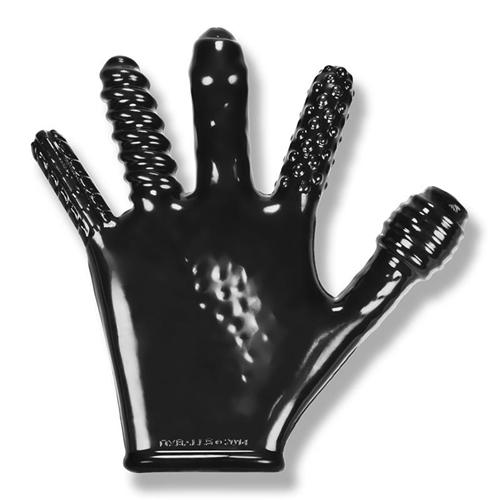 Finger Fuck Handschoen - Zwart