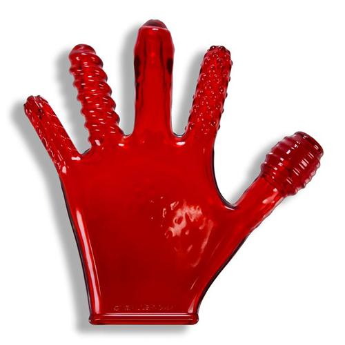 Finger Fuck Handschoen - Rood