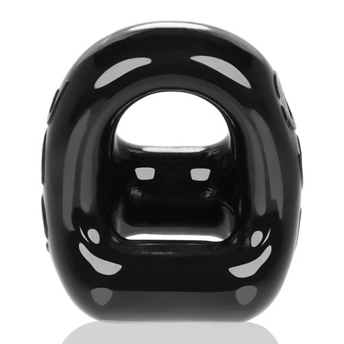 360 Cockring & Ballsling – Zwart Zwart – Oxballs