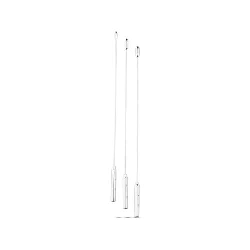 Dilator Set Met Ronde Top – Klein – 3 Stuks Zilver – Sinner Gear