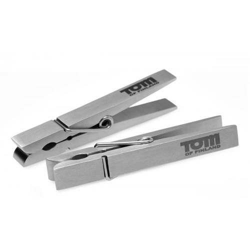 Bro's Pin Tepelklemmen Zilver – Tom of Finland