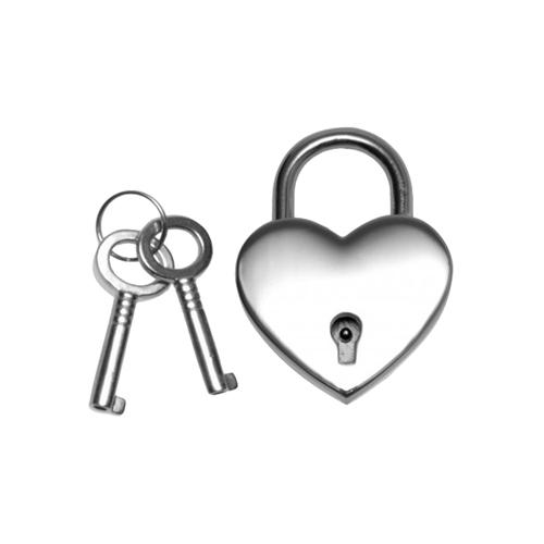 Hartvormig slot met sleutels