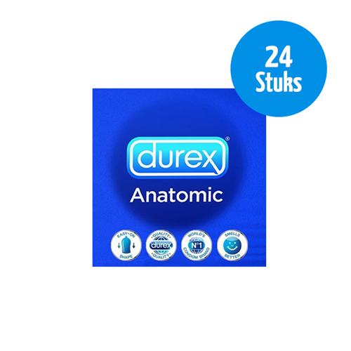 24 Durex Anatomic Condooms