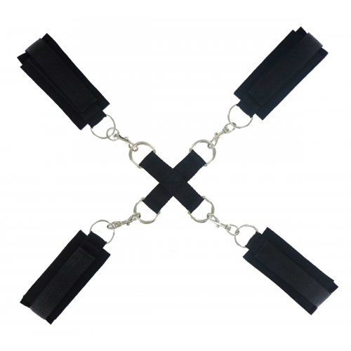 Stay Put Cross Tie Restraints Zwart – Frisky