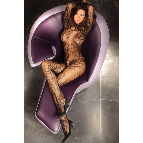 Abra Catsuit zwart Zwart – Livia Corsetti Fashion