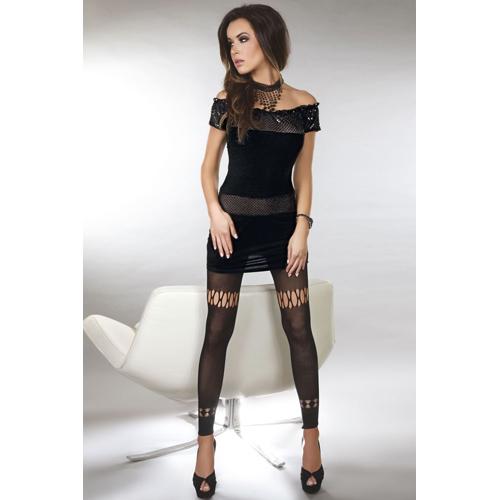 Diamond Lust Jurkje – Zwart Zwart – Livia Corsetti Fashion