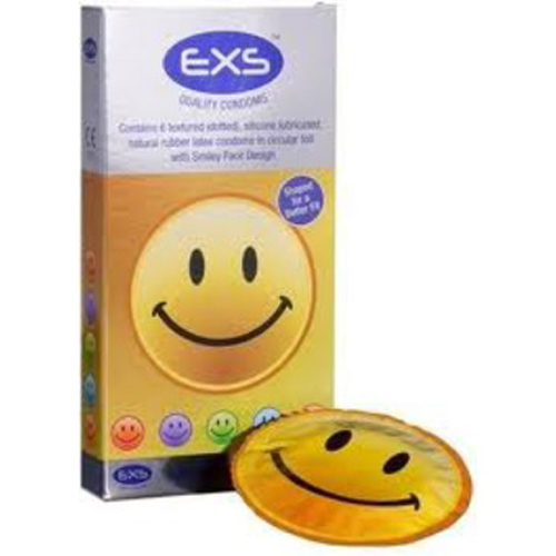 EXS Smiley Face - 6 Condooms