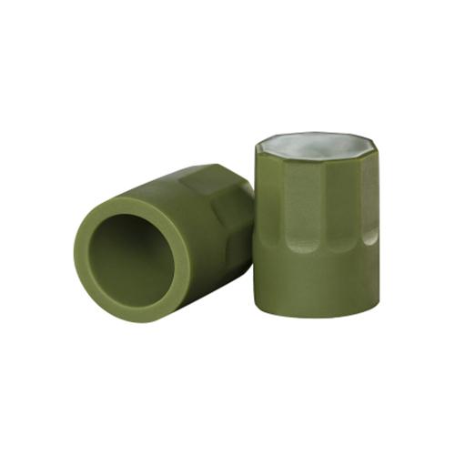 Groene siliconen tepelzuigers - Oxballs