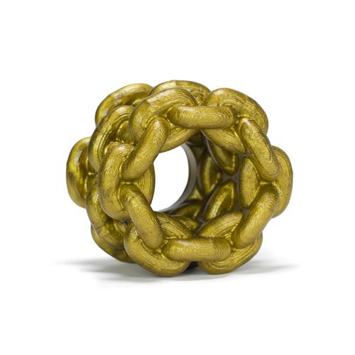 Oxballs Ketting Ballstretcher - Goud