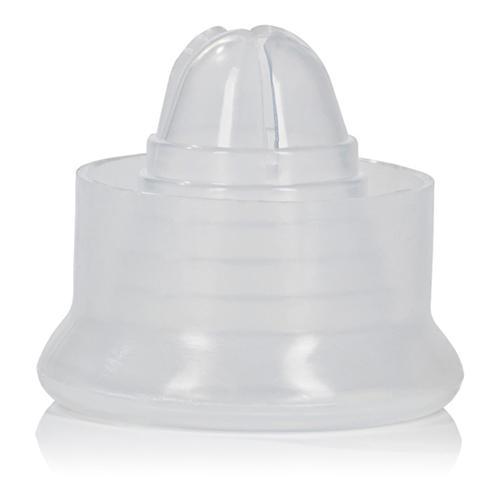 Een soepele, zachte sleeve van calexotics welke je aan de onderkant van de penispomp kunt schuiven. verbeter ...