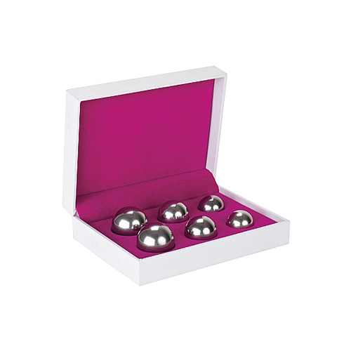Ben Wa Balls Set Zilver Zilver – Shots Toys