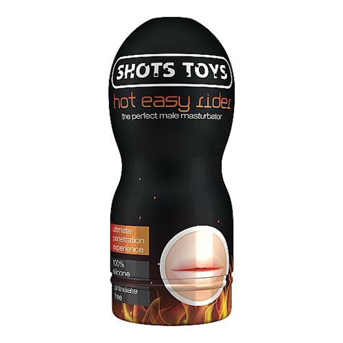 Kunstmond met dop Huidkleur – Shots Toys
