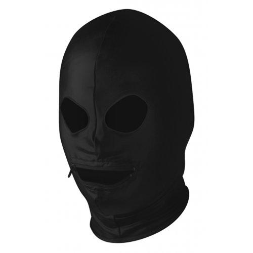 Bedekkend hoofdmasker zwart
