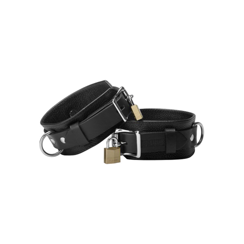 Strict Leather Deluxe Locking Cuffs - Small