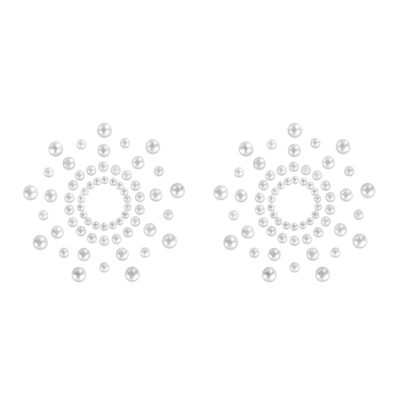 Afbeelding van Mimi Tepelstickers Wit van Bijoux Indiscrets one size
