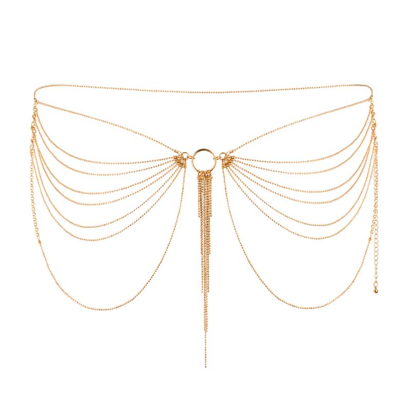 Afbeelding van Magnifique Heupketting Goud van Bijoux Indiscrets one size