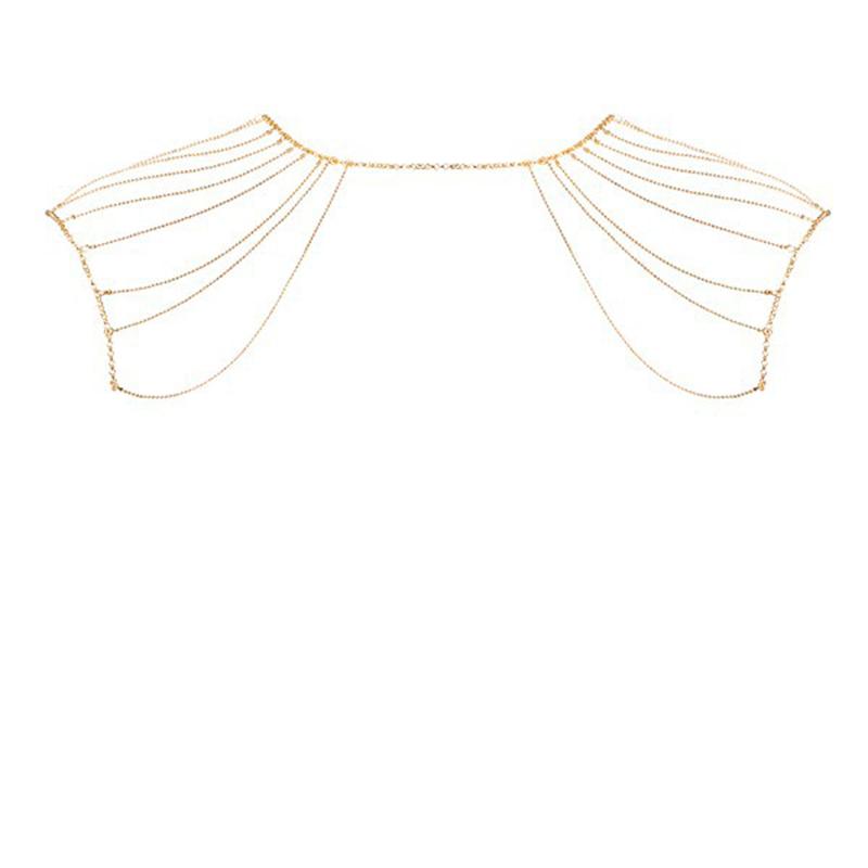 Afbeelding van Magnifique Schouderketting Goud van Bijoux Indiscrets one size