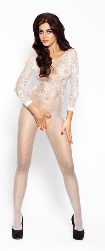 Afbeelding van Bodystockings Catsuit Met Lange Mouwen One Size Passion