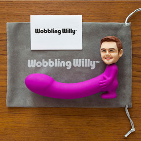 Wobbling Willy: de gepersonaliseerde dildo