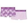 2-Pack Women Feather Purple