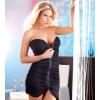 Strapless jurk Zipper