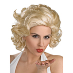 Pruik Marilyn...
