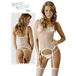 Netstof lingerie setje