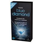 Blue Diamond Kondome für eine steifere Erektion