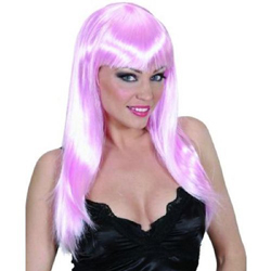 Beautiful Fuchsia Wig