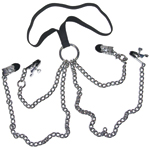 Woman Chain Harness