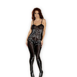 Bodystocking Skelet