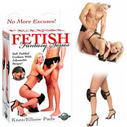 Fetish Fantasy Knee/Elbow Pads