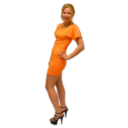 Party Kleid Oranien
