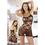 Net Dress Lace S/M