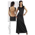 Sexy lange jurk met ketting