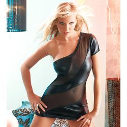 Spiraal mini jurk