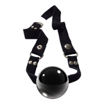 Glazen mondknevel zwart Icicles No 65