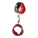 Ankle Cuffs Red 6.5 CM