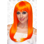 Capless Orange Wig...