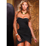 Strapless Dress Black